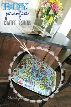 BOY proof Laminated seat cushions at {Onekriegerchick