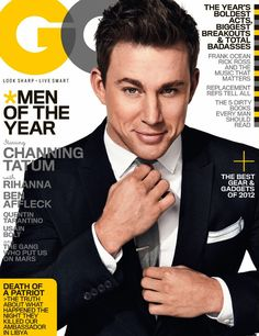 "Channing Tatum had 3 of his 5 films this year break the $100 Million+ mark worldwide, the star of 'The Vow', '21 Jump Street', and 'Magic Mike' has been dubbed ""Movie Star of the Year"" by the GQ."