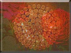 """'Glaskachel """"Licht und Rosen""""' von Rudolf Büttner bei artflakes.com als Poster oder Kunstdruck $18.71"""