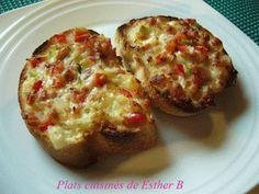 Les plats cuisinés de Esther B: Bouchées pur délice au bacon