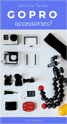 What Are The Best Starter GoPro Hero4 Silver/Black Accessories? — Page by Paige