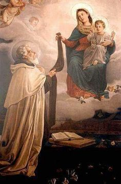 St. Simon Stock pray for us  OLMC pray for us  Lord hear our prayers