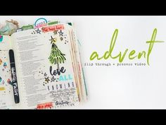 Bible Journaling Advent Check In + Process Video!! - Illustrated Faith - Illustrated Faith