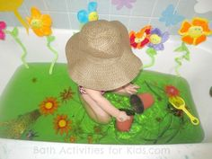 Gardening Bath | Rainy Day Activities