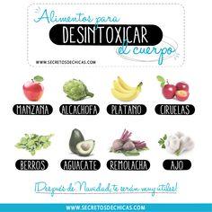 Alimentos Para Desintoxicar El Cuerpo_ Por Secretos De Chicas