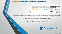Boostez l'utilisation des sites SharePoint 23 mai 2014 Genève by Yoan Topenot via slideshare