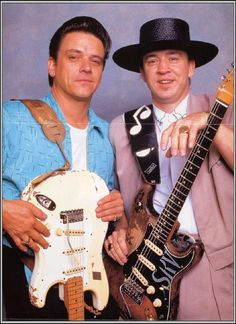 Jimmie and Stevie Ray Vaughan, Stevie was born and raised in Dallas, Texas He began playing guitar at the age of 7, inspired by his old brother Jummie. In 1971 he dropped out of high school, and moved to Austin the following year. He played gigs with numerous bands, earning a spot in Marc Benno's band, the Nightcrawlers, and later with Denny Freeman in the Cobras, with whom he continued to work through late 1977. He then formed his own group, Triple Threat Revue, before renaming the band…