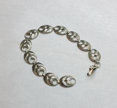Altes nostalgisches Armband Silber 835  von Schmuckbaron auf Etsy