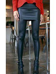 Patent Imitation Leather Colutte Leggings – EUR € 10.31