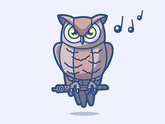 Owl 16/24 by Benjamin Bely