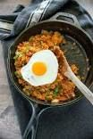Sweet pork fried rice recipe full menus that feature your favorite ingredients Fried Brown Rice, Fried Rice, Short Grain Brown Rice, Gluten Free Rice, Frozen Vegetables, Kimchi, Rice Recipes, Fries, Pf Changs