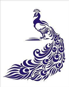 #peacock #stencil
