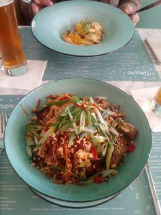 Umami Dumpling & Pasta Bar, Wrocław - recenzje restauracji - TripAdvisor Pasta Bar, Bar Interior, Dumplings, Poland, Trip Advisor, Ethnic Recipes, Food, Hoods, Meals