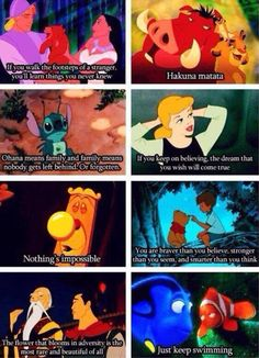 What Disney thought us