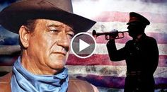 Grab a tissue before you listen to this one. Country western icon, John Wayne, who is known for his fierce American pride tells the emotional history of Taps...