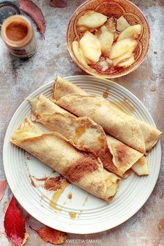Naleśniki orkiszowe (bez masła, soli i cukru) Food And Drink, Breakfast, Ethnic Recipes, Morning Coffee