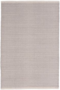 """Our best-selling herringbone woven cotton rugs just got even better! In a goes-with-anything subtle grey hue, this classic pattern is the perfect way to perk up bedrooms, hallways, stairs, and more. <br> <br>  Made to coordinate with <a href="""" /search?text=dove+grey&c=pch""""> dove grey  </a>, duvet covers, sheet sets, shams, pillowcases, decorative pillows, and throws from Pine Cone Hill"""