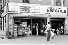 Best knishes ever was in Brighton Beach.