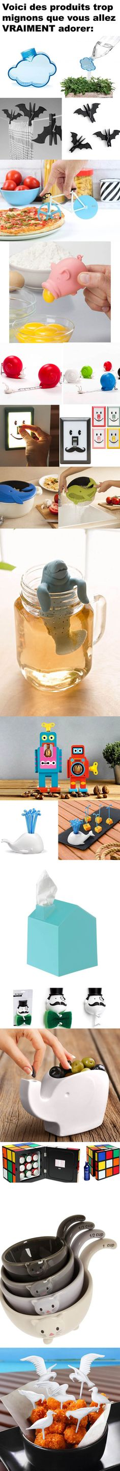 Produits trop mignons High Tech Gadgets, Cool Gadgets, Objet Wtf, Deco Pastel, Take My Money, Cool Inventions, Happy Fun, Pictures Images, Diy Organization