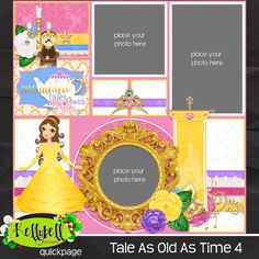 Tale As Old As Time Quickpage 4