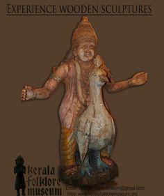 Wooden Sculptures, Hindu Art, Art And Architecture, Folklore, Kerala, Batman, Museum, Superhero, Fictional Characters