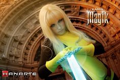 Introducing Jennifer as Magik! Jennifer is new to cosplay and is from Houston, Texas! Photo by HANARTE Graphics.    Marvel's use of all photos are governed by the Marvel.com Terms of Use and Privacy Policy.