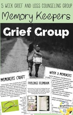 Grief and Loss Group for elementary school students