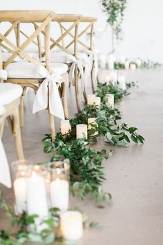 chic wedding aisle decoration ideas with candles ceremony aisle 26 Budget Friendly Simple Outdoor Wedding Aisle Decoration Ideas - EmmaLovesWeddings Wedding Ceremony Ideas, Simple Outdoor Wedding Decorations, Wedding Isle Decorations, Wedding Aisle Outdoor, Romantic Wedding Receptions, Wedding Lanterns, Wedding Aisle Candles, Outdoor Weddings, Romantic Weddings