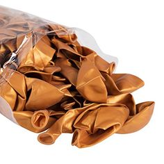 12Latex balloonsgold100pc * Visit the image link more details.