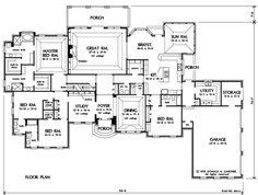 Ordinaire 292 Best Floorplans Images On Pinterest | House Floor Plans, House Design  And Basement