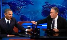 President Obama tells Jon Stewart about first debate: 'Obviously, I had an off-night' (Photo: Comedy Central) #NBCPolitics