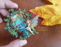 🍃🍁🍂🍃 Welcome autumn 🍃🍁🍂🍁 #angeniacreations #angenia #autumn #faerie #fantasy #creations #handmade #clay #polymerclay #miniature
