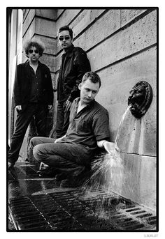 The Jesus And Mary Chain : William Reid, Ben Lurie, Jim reid