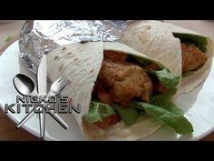 ▶ KFC CHICKEN TWISTER - Nicko's Kitchen - YouTube