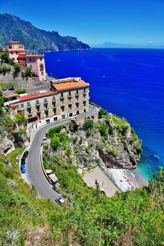 Wonderful view of Atrani, Amalfi Coast, Italy. The Amalfi Coast is in the province of Salerno in southern Italy. It is a hugely popular tourist destination, and is listed as a UNESCO World Heritage Site.