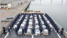 US Coast Guard Offloads 18 Tons of Cocaine in San Diego - Blooper News - News by you for you!™