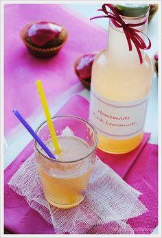 My favorite lemonade Beverages, Drinks, Pink Lemonade, Glass Of Milk, Bubbles, Sugar, Homemade, My Favorite Things, Bottle