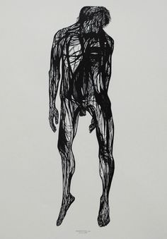 Leonard Baskin: Hanged Man (1962) Woodcut