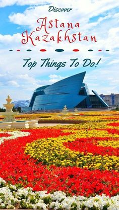 Read about things to do in Astana, the impressively designed new capital of Kazakhstan! #astana #capital #kazakhstan