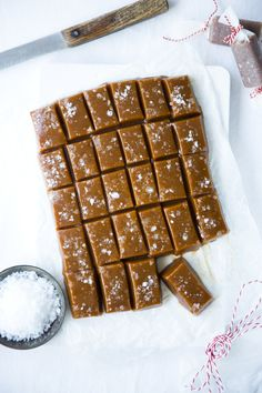 Irish Atlantic Sea Salt Caramels | DonalSkehan.com, Soft and chewy, the ideal gift or afternoon treat!