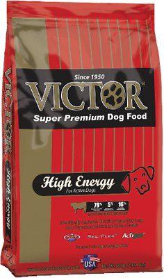Victor High Energy Dog Food Victordogfood Dogfood