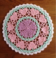 The second Heart Mandala  | Crochet Millan