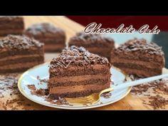 Hogyan készítsünk legjobb csokoládétorta / Chocolate Ganache recept - YouTube Chocolate Ganache, Best Chocolate Cake, Party Desserts, No Bake Desserts, Delicious Desserts, Mini Cakes, Cupcake Cakes, Cake Recipes, Snack Recipes