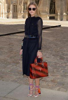 Olivia Palermo au défilé Dior