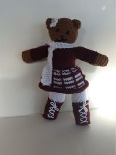 Purling Antonia: Faces Tutorial for Mother Bear Projects