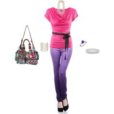 Color frenzy, created by sodapop528 on Polyvore