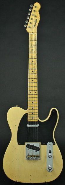 Fender Custom Shop Masterbuilt 1952 Telecaster Relic in Nocaster Blonde w/OHSC | Reverb