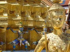 Chedi at the Grand Palace in Bangkok, Thailand.
