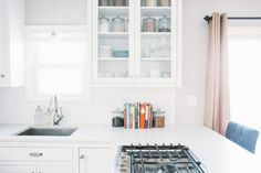 Before and After: A Food Blogger's Wow-Worthy White Kitchen  - HouseBeautiful.com