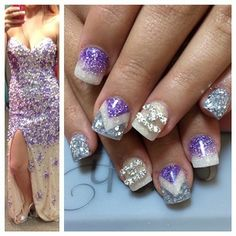 Mani Pedi, Manicure And Pedicure, Diamond Hair, Cute Nail Designs, Spring Nails, Wedding Nails, Nails Inspiration, Cute Nails, Amazing Nails